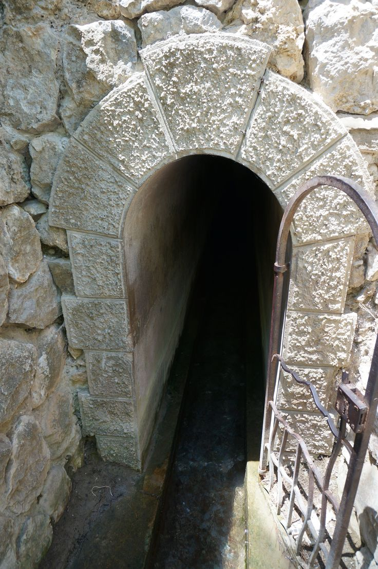 #Water #tunnel at #seven #springs #Rhodes #Island #Greece
