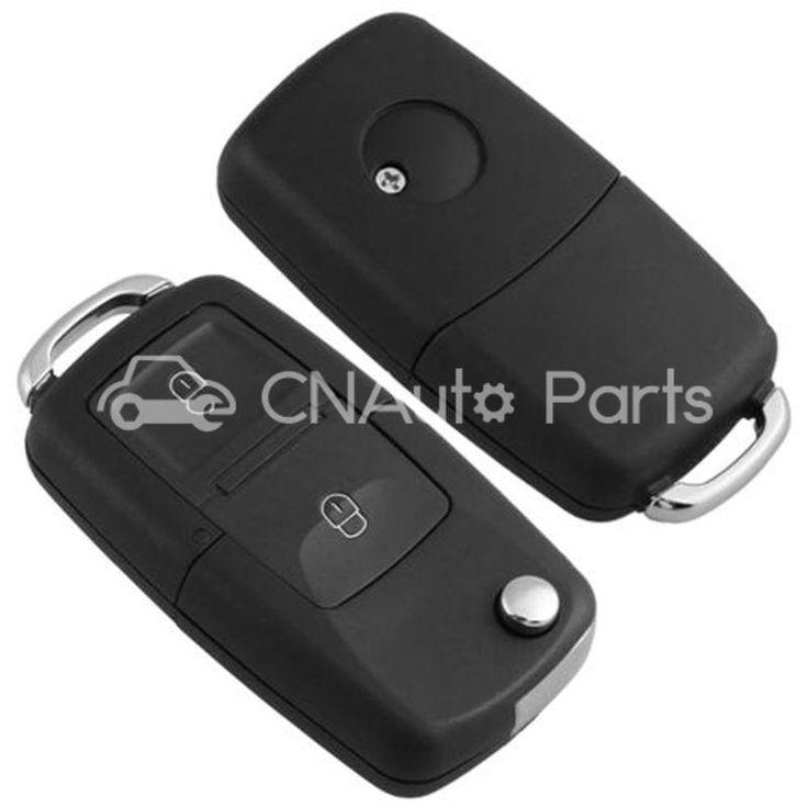 Вступление Клавиша Дистанционная Брелок Чехол 2 Кнопка для Volkswagen VW Polo Golf Бора 1999-2005, SHARAN, TOURAN 2003-2009, TRANSPORTER