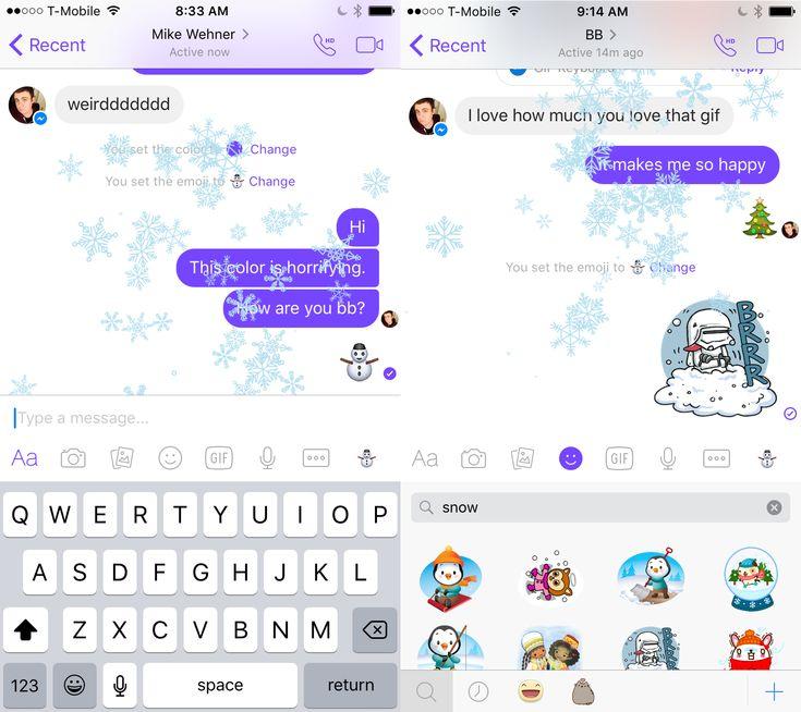 How To Change Messenger Color On Facebook Messenger Facebook Messenger Emoji Custom