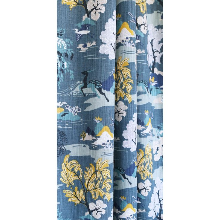 A Whimsical Chinoiserie Toile Fabric In Such Beautiful Colours Thatu2026 Part 61