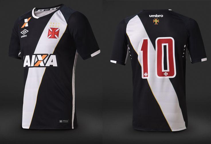 Camisas do Vasco da Gama 2016-2017 Umbro Preta