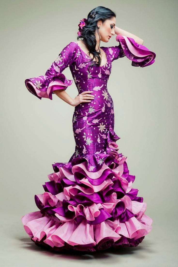 ana moreno flamenco dress beautiful multi cultural. Black Bedroom Furniture Sets. Home Design Ideas