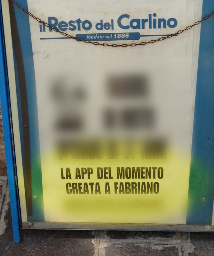 Il Resto del Carlino: l'app del momento... made in Fabriano