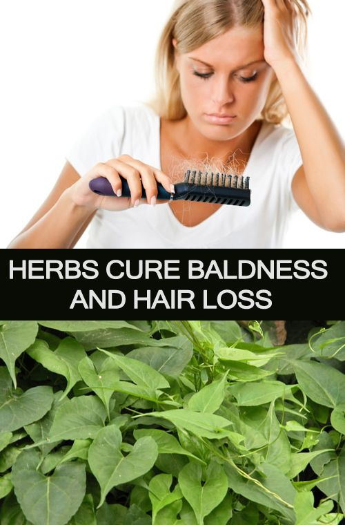 Herbs Cure #Baldness And Hair Loss