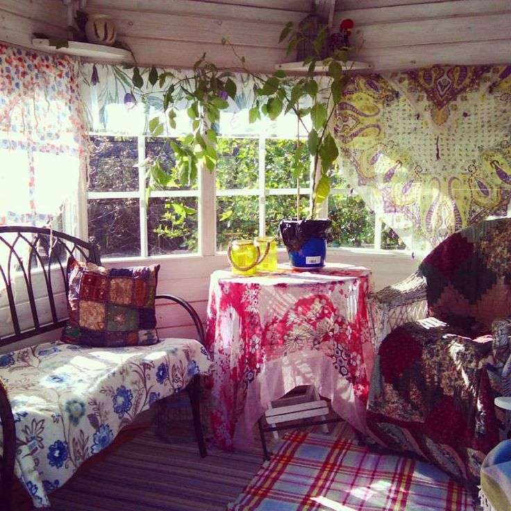 My little garden house this year :)