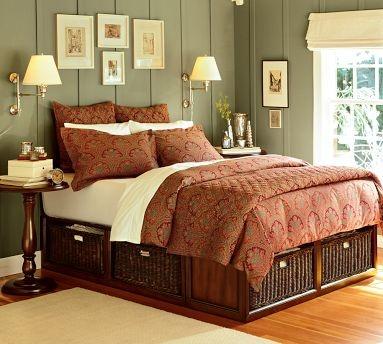 Bedframe with storage