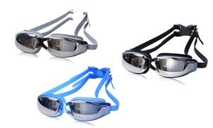 Groupon - Anti-Fog Swimming Goggles: One ($ 15) or Two Pairs ($25). Groupon deal price: $15