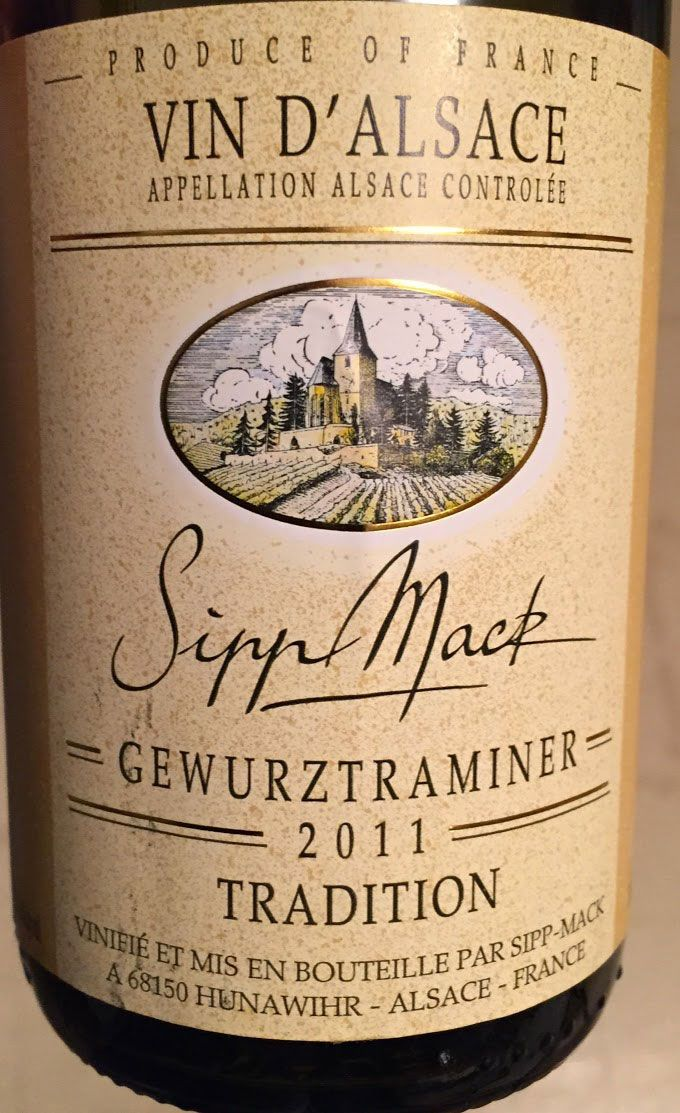 Sipp Mack Gewürztraminer makes a good pairing for carrot ginger soup or Indian food. Image links to Cooking Chat post with #wine notes and soup recipe.
