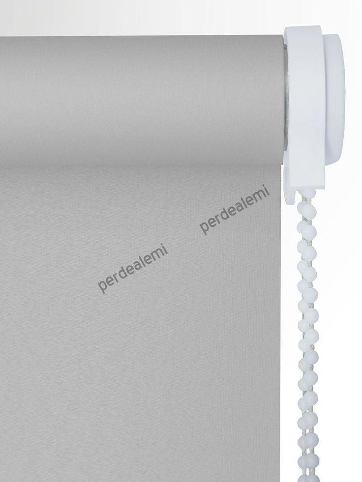 Stor Perde Gri Polyester Serisi 2547 Stor Perde | Perde | Online | Ucuz | Hesaplı | Brillant