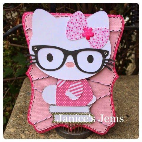 Janice's Jems: Hello Kitty #SVGCuttingFiles #JadedBlossom