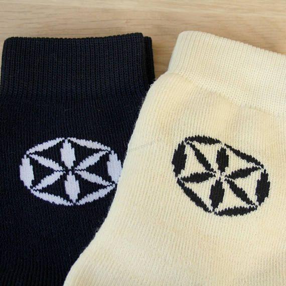 Wool socks  symbol of Perun  Men's socks  wool merino