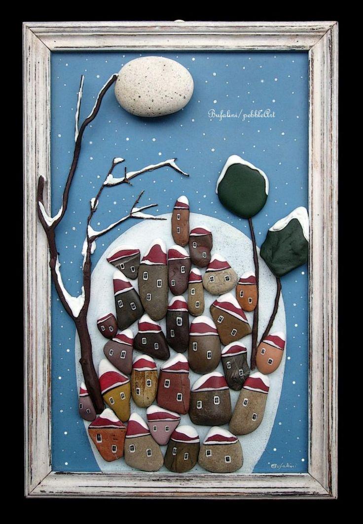 Oltre 25 fantastiche idee su legno di recupero dipinto su - Idee tableau creatif ...