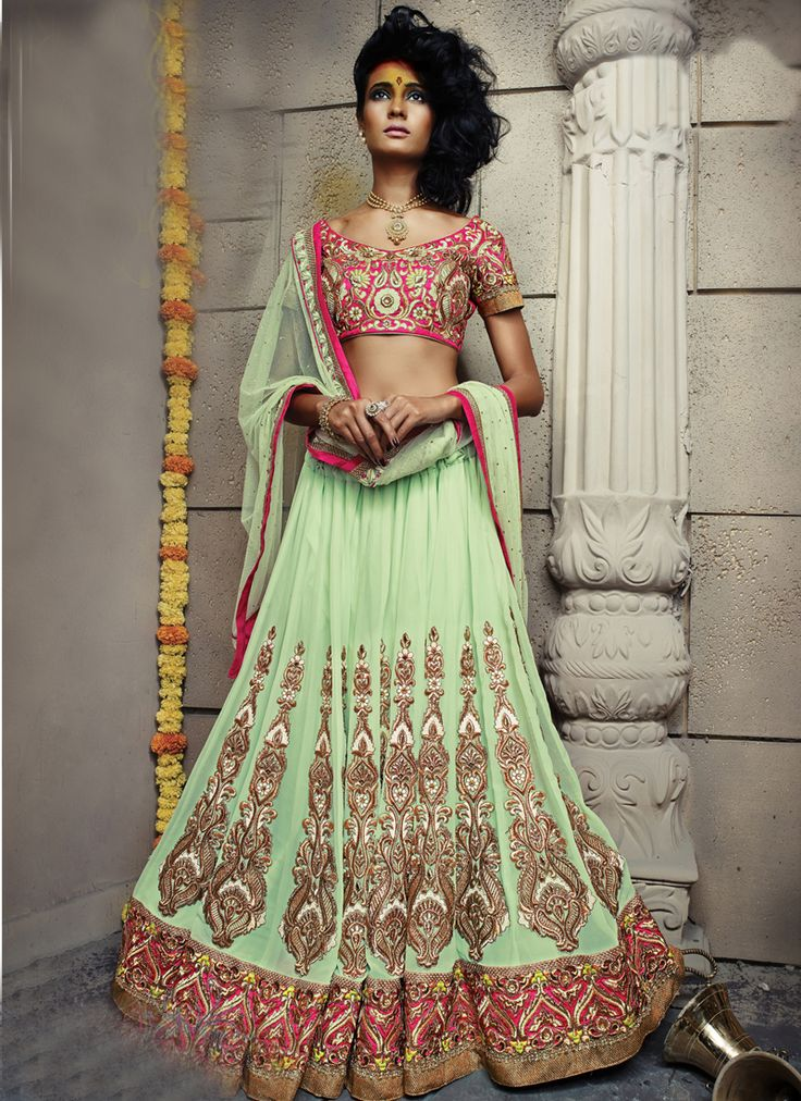 BRIDAL LEHENGA CHOLI for orders and enquiry 044-23714272