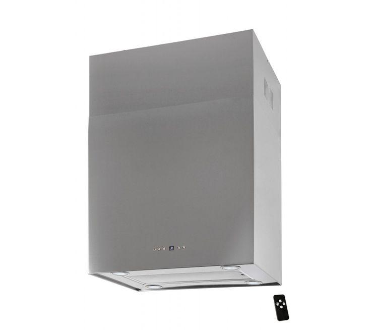 Lyx vägghängd skåp köksfläkt SEMPRE 40cm/ 60cm rostfritt stål