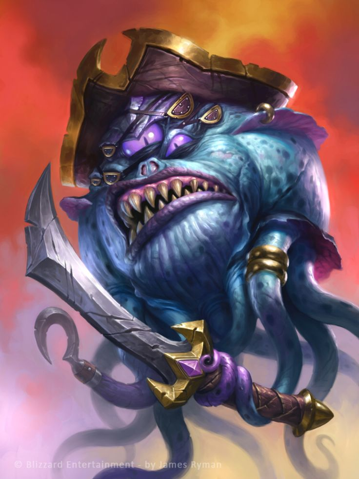 Patches the Pirate for Hearthstone by namesjames on @DeviantArt