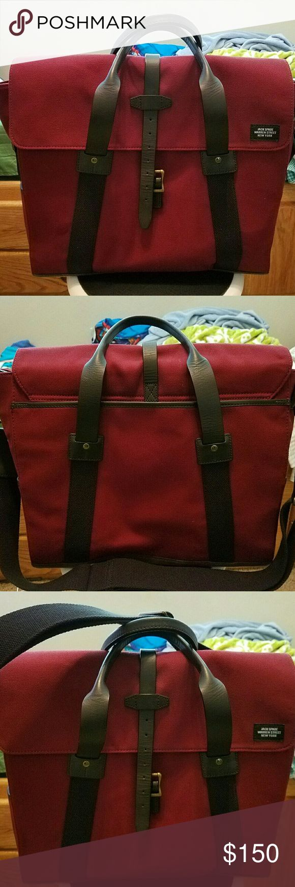 Jack spade  bag has  ask for info thanks Wine swiss brief jack spade bag Jack Spade Bags Luggage & Travel Bags
