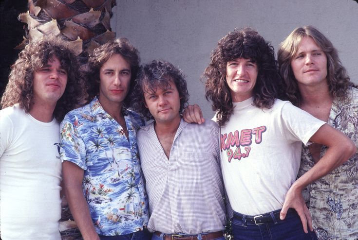 REO Speedwagon, 1979: The band members of REO Speedwagon got together for a photo op in 1979.