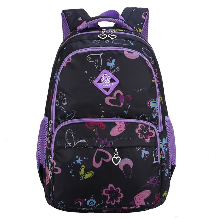 School Bags For Girls Children Floral Schoolbag Casual Bookbag Cute Backpack Retail