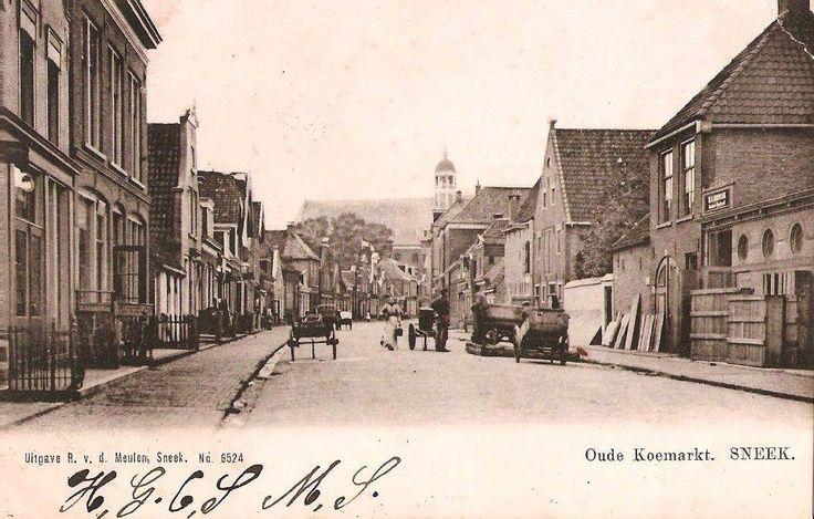Oude Koemarkt, ca. 1900