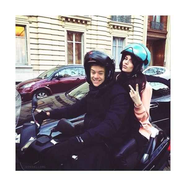 hendall bitches ❤ liked on Polyvore featuring harry and kendall, harry styles, hendall and manip