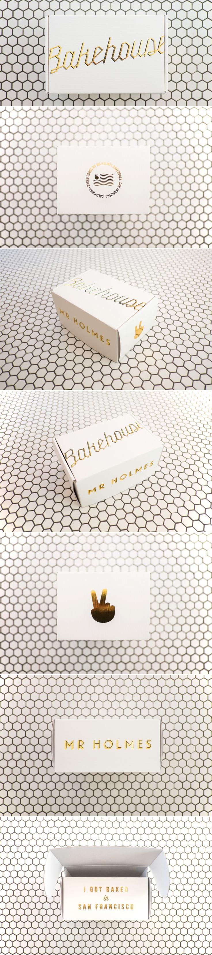 Mr Holmes Bakehouse — The Dieline | Packaging & Branding Design & Innovation News
