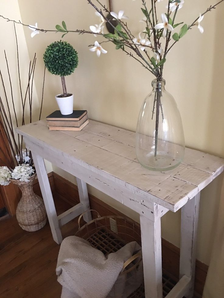 Entry table/Wood table/Entryway table/Entry furniture/Farmhouse table/Console table/Buffet table/Accent table by Rustiek on Etsy https://www.etsy.com/listing/272483412/entry-tablewood-tableentryway-tableentry
