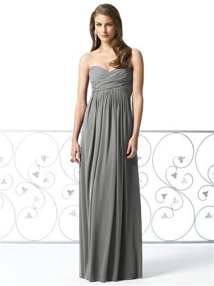 final decision?: Long Dresses, Long Gray Bridesmaid Dresses, Charcoal Gray, Charcoal Grey, Charcoal Bridesmaid Dresses, Simple Bridesmaid Dresses, The Dresses, Dessi 2846, Style 2846
