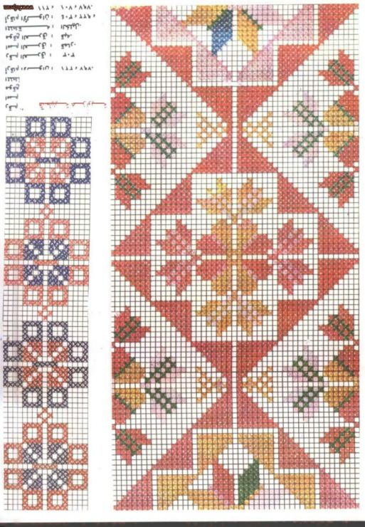 Gallery.ru / Фото #125 - Palestinian Cross Stitch Patterns - vihrova