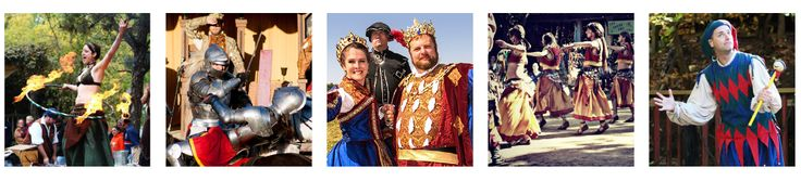 Kansas City Renaissance Festival, great time for anyone who loves artisans and pretending its the middle ages in an alternate universe.