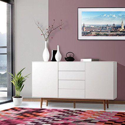 Die Besten 25+ Kommode Weiß Holz Ideen Auf Pinterest | Stehlampe ... Wohnzimmer Kommode Weis