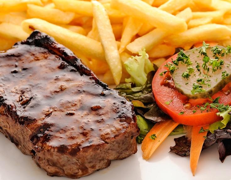 250g prime aged sirloin steak... Da Vinci's style