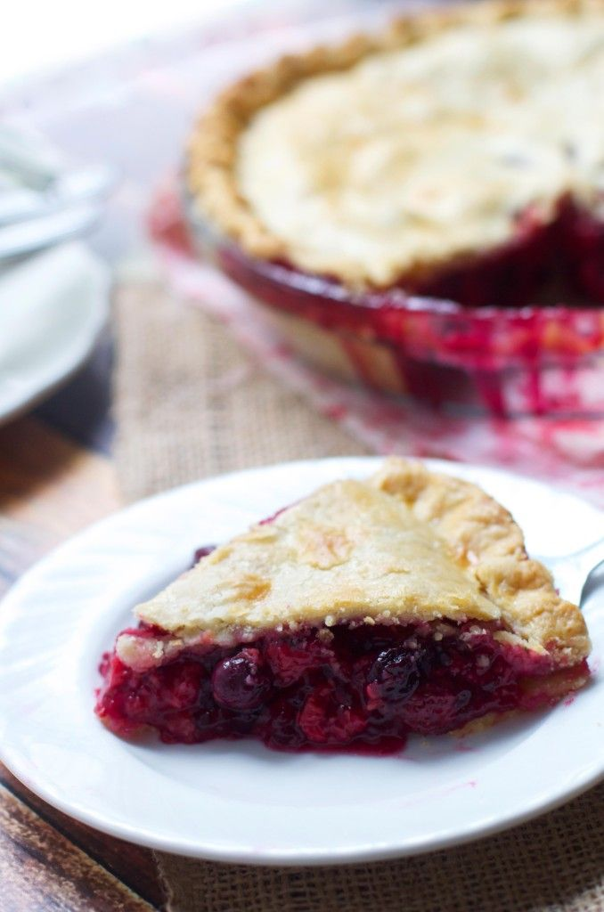 Mixed Berry Pie- The Baker Chick