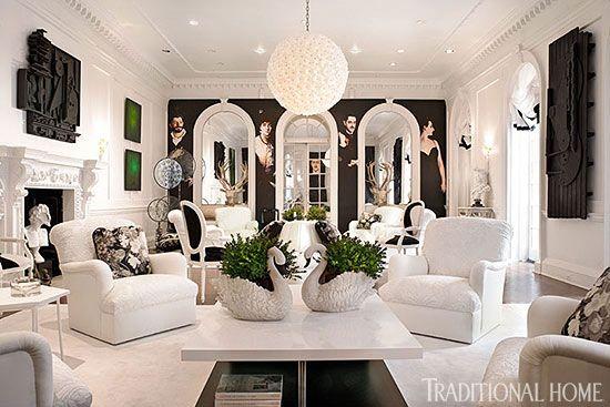 New york city s holiday house designer showcase for Living room jozi