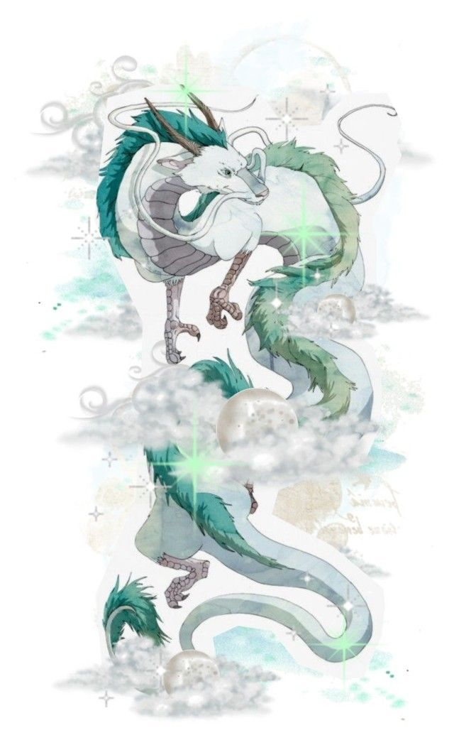 Spirited Away Haku Dragon In 2020 Ghibli Tattoo Studio Ghibli Tattoo Studio Ghibli Art