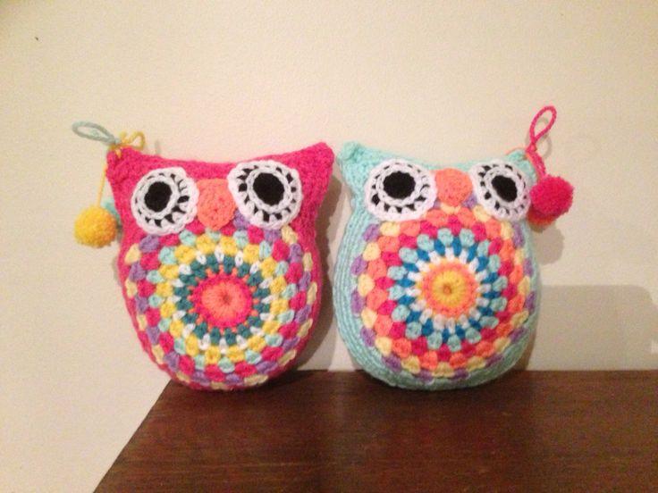 Funky lil owls