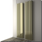The Onde's alternating curved surfaces are inspired by the movement of waves. This modular radiator allows the customer control over the final design in order to create a original piece of contemporary heating.