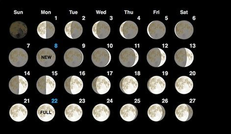 Current, past and future Moon Phase Calendar. Click on Moon Phase Calendar to get complete moon phase details for that day.
