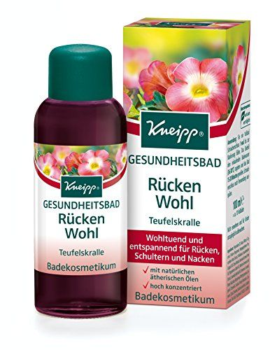 Kneipp Gesundheitsbad Rücken Wohl Teufelskralle, 100 ml Kneipp http://www.amazon.de/dp/B0042HR7JE/ref=cm_sw_r_pi_dp_GcUivb085C9WY