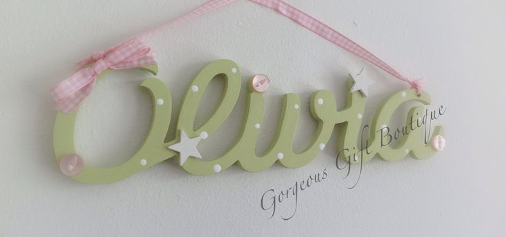 7 best personalised childrens name plaques and signs images on personalised name plaques negle Images