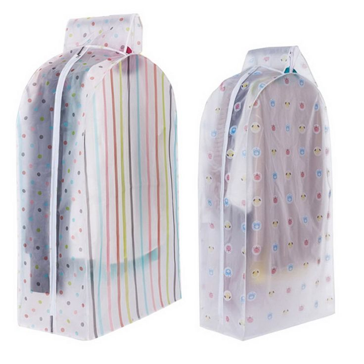 Vacuum Storage Bags Cover Clothes Protector Garment Suit Coat Dust Cover Protector Wardrobe Storage Bag Home Organizer