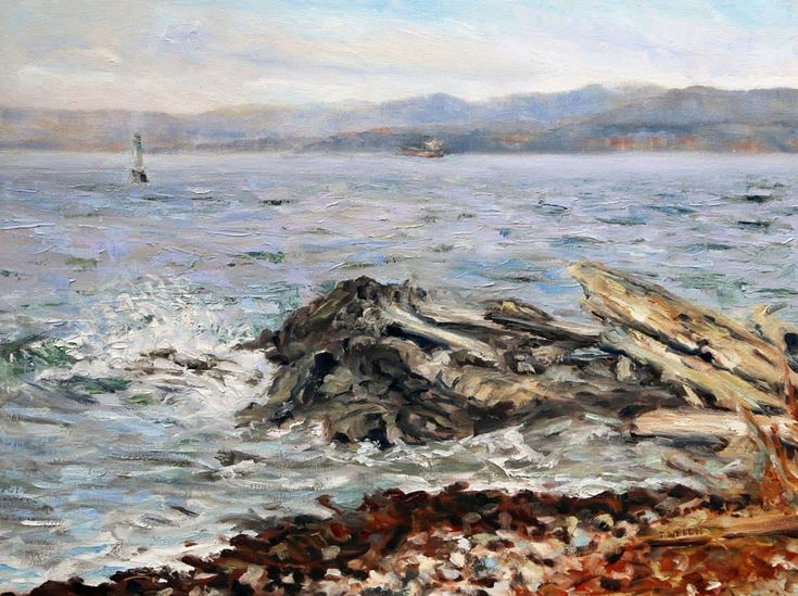 Last Days Before Snow Victoria BC oil painting by Terrill Welch