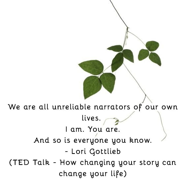 Ted talk by lori gottlieb how changing your story can