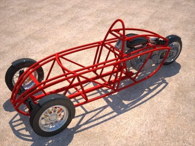 3 wheel car chassis design pdf