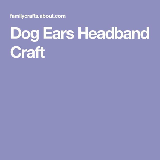 Dog Ears Headband Craft