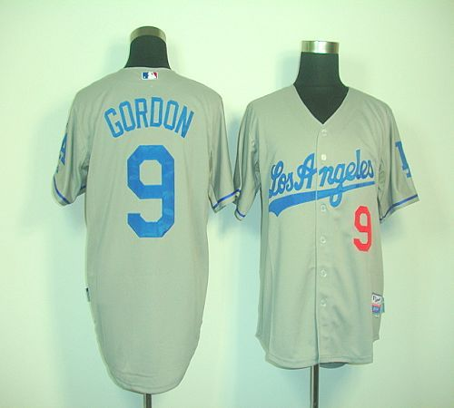 dodgers 9 dee gordon grey cool base stitched baseball jersey. dodgers jerseysbaseball jerseyslos angeles dodgers .