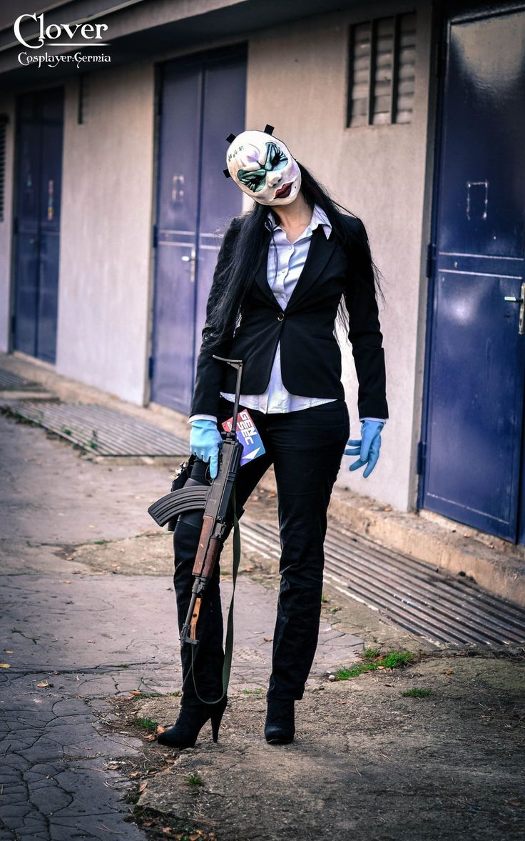 Clover Payday 2 Cosplay Pinterest Cosplay And