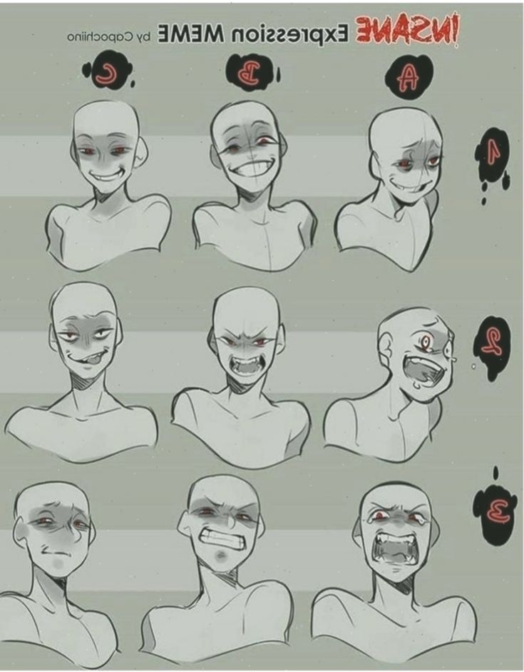 Learn to draw faces ansichten anime