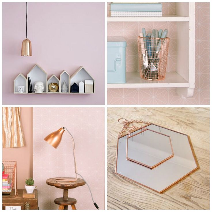 Lovely Interiors // Copper Home Accessories