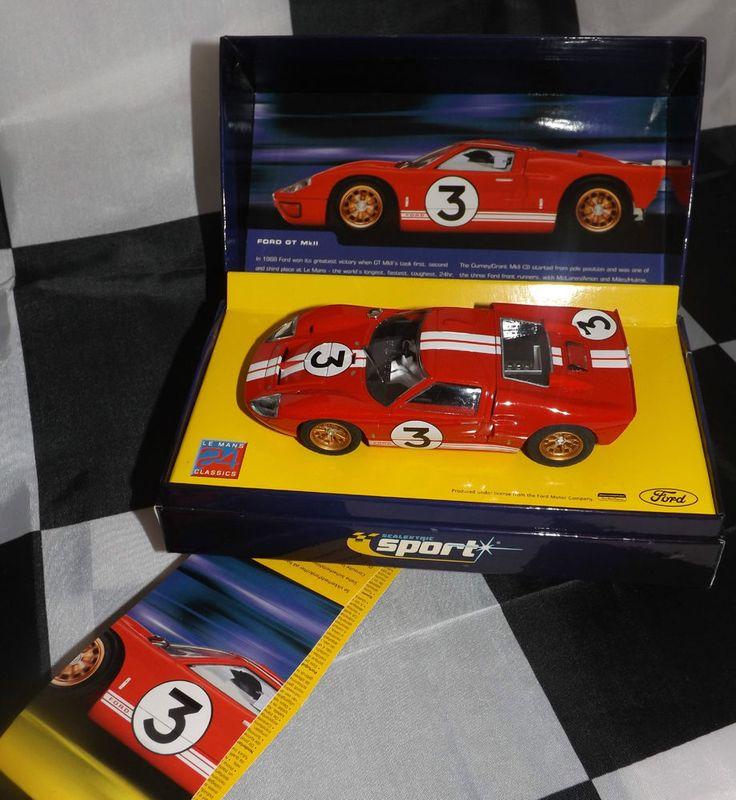 scalextric sport slot car le mans 24 classics ford gt gt40 mk2 1966 limited ed - La Table D Elise Le Mans