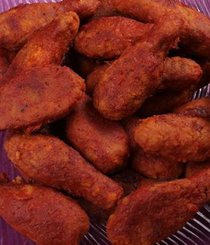 I must try this. Faux Spicy Vegan Hot Wings - My Vegan Cookbook - Vegan Baking Cooking Recipes Tips